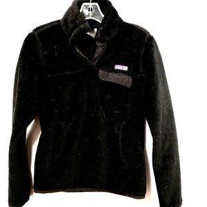 PATAGONIA Black Fleece Jacket Synchilla XS MINT